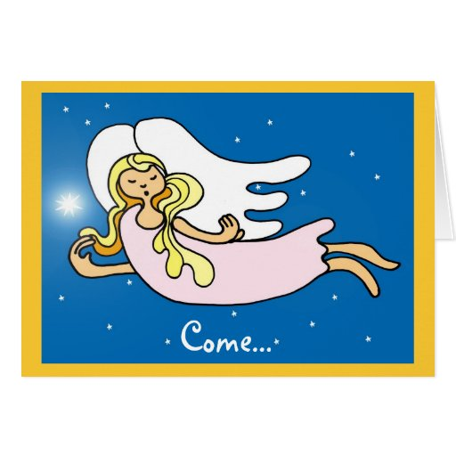 Come... Greeting Card