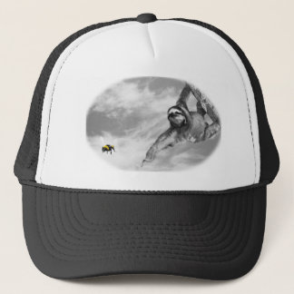 come here trucker hat