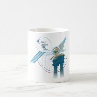 Come Hither My Lady Classic White Coffee Mug