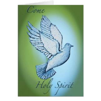Come Holy Spirit Cards