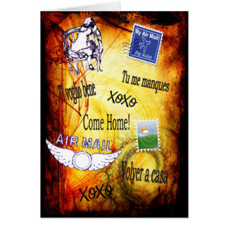 Come Home- I Miss You Greeting Card