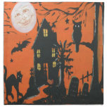 Come in Dearie vintage Halloween Cloth Napkins