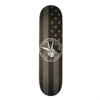 Come in Peace Skateboard Deck