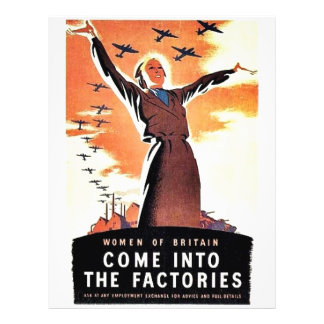 Come Into The Factories Flyer