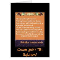 Come join TBI Raiders!