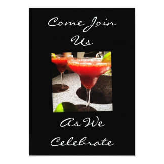 COME JOIN US AS WE CELEBRATE (ANY EVENT) 5X7 PAPER INVITATION CARD