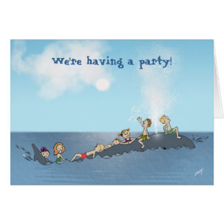 Come join us for a WHALE of a time! Card