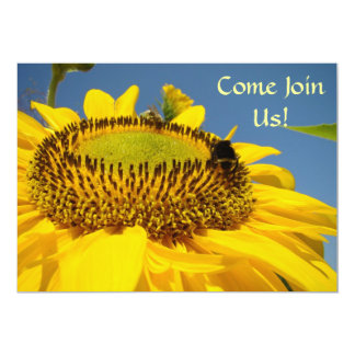 Come Join Us! Party Invitations Events Sunflowers