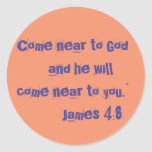 """""""Come Near to God"""" Bible Journaling Stickers"""