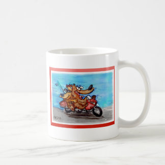 come on babe, let's ride! coffee mug