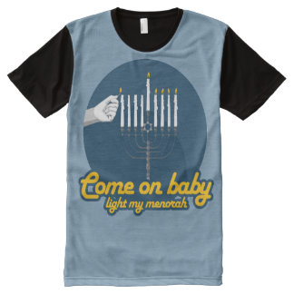 COME ON BABY LIGHT MY MENORAH --.png All-Over-Print Shirt