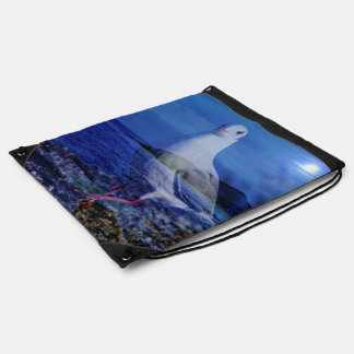 Come on, big seagull (U) Drawstring Backpack