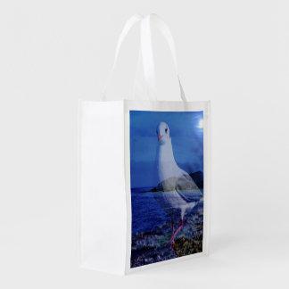 Come on, big seagull (U) Reusable Grocery Bag