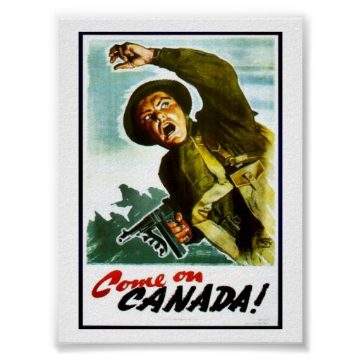 Come On Canada! Poster