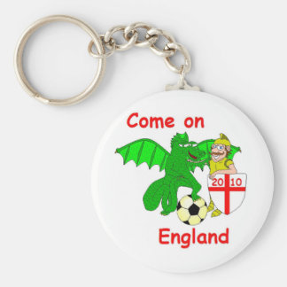 Come on England Keychain