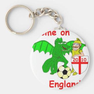 Come on England Key Chains