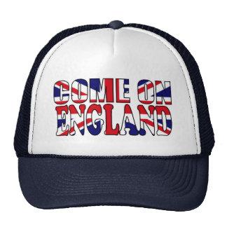 Come on England UK Flag Union Jack hat