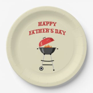 Come On...Father's Day Party Paper Plates