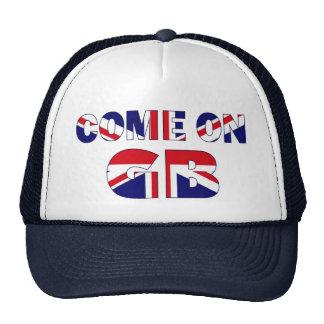 Come on GB UK Flag Union Jack hat