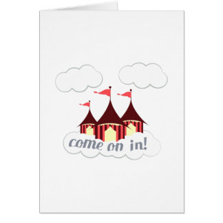 Come On In Greeting Card