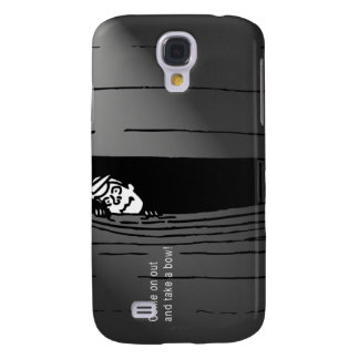 """""""Come on out and take a bow!"""" Galaxy S4 Cover"""