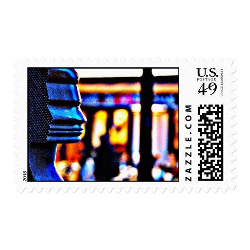 Come On Pilgrim Stamp