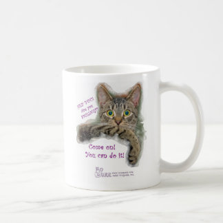 Come on YOU CAN DO IT! Classic White Coffee Mug