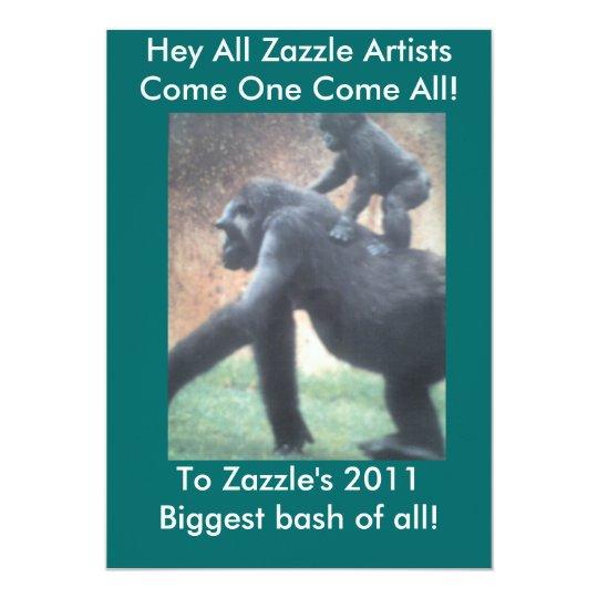 Come One Come All! Invitation