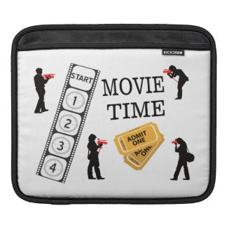 Come One Come All It's Movie Time iPad Sleeve