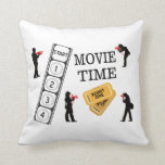 Come One Come All It's Movie Time Pillow