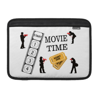 Come One Come All It's Movie Time Sleeve For MacBook Air