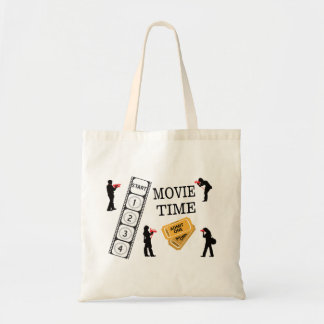 Come One Come All It's Movie Time Tote Bag