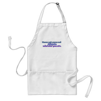 Come out, come out, Atheists, wherever you are Adult Apron