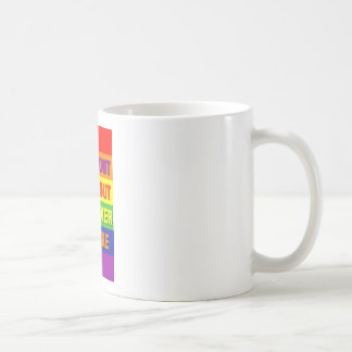 Come out come out wherever you are! classic white coffee mug