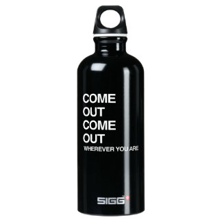 COME OUT COME OUT WHEREVER YOU ARE SIGG TRAVELER 0.6L WATER BOTTLE