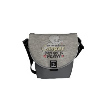 Come Out To Play Courier Bag by casper at Zazzle