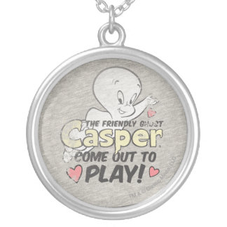 Come Out To Play Silver Plated Necklace