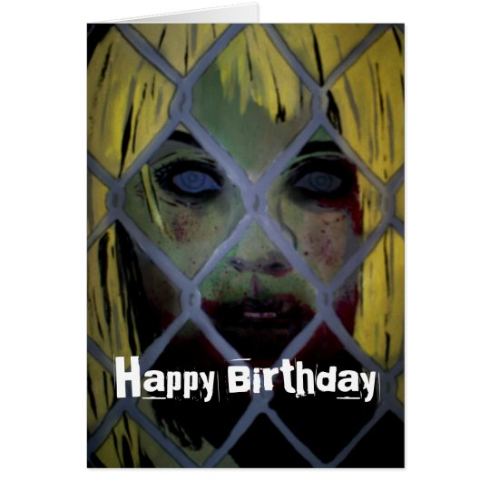 'Come Out Tonight' (Zombie) Birthday Card