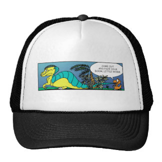 COME OUT WORM! TRUCKER HAT