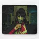 Come Over For a Bite Sometime  Creepy Mousepad