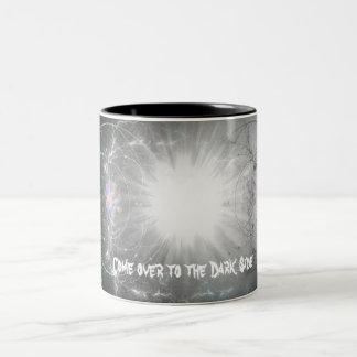 Come over to the Dark Side Two-Tone Coffee Mug