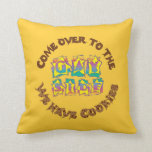 Come Over to the Gay Side Throw Pillow
