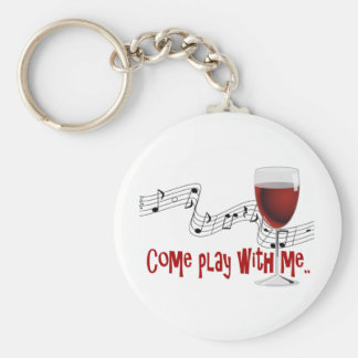 Come Play With Me Keychain