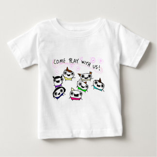 """Come play with us"" Baby T-Shirt"
