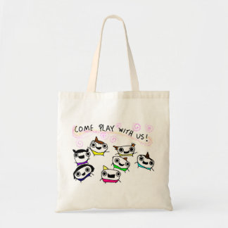 """Come play with us"" Bag"