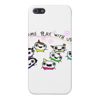 """Come play with us"" Case For iPhone SE/5/5s"