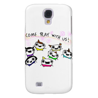 """Come play with us"" Galaxy S4 Cover"