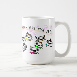 """Come play with us"" Mug"