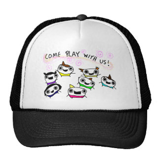 """""""Come play with us"""" Trucker Hat"""