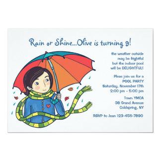 Come Rain Or Shine Invitation